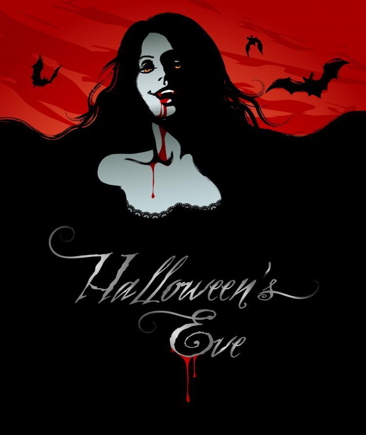 750x890 Halloween Horror Poster Vector Free Vector 4vector