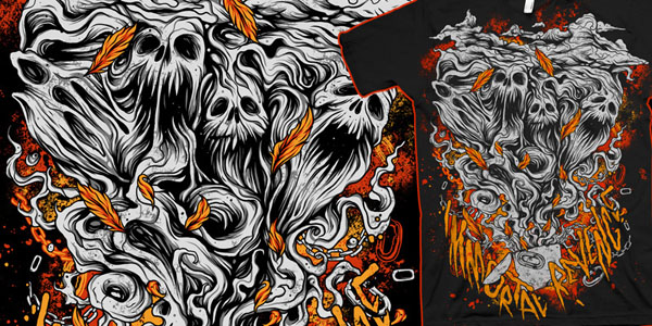 600x300 Halloween Horror Fest Of Over 50 Scary Vector Illustrations