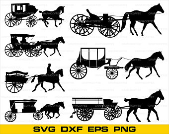 340x270 Carriage Vector Etsy