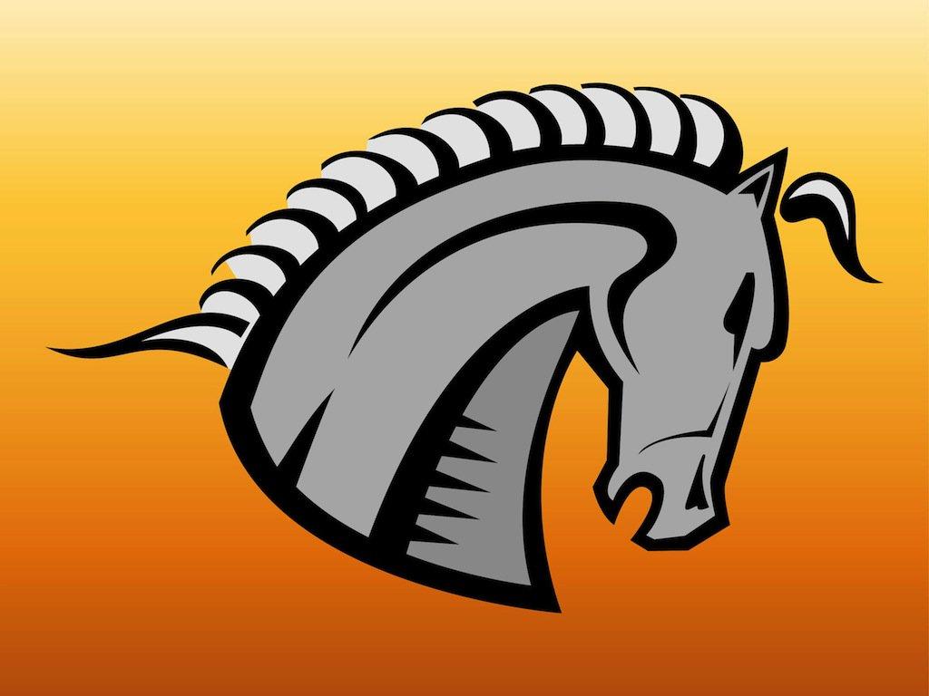 1024x768 Horse Head Logo Vector Art Amp Graphics