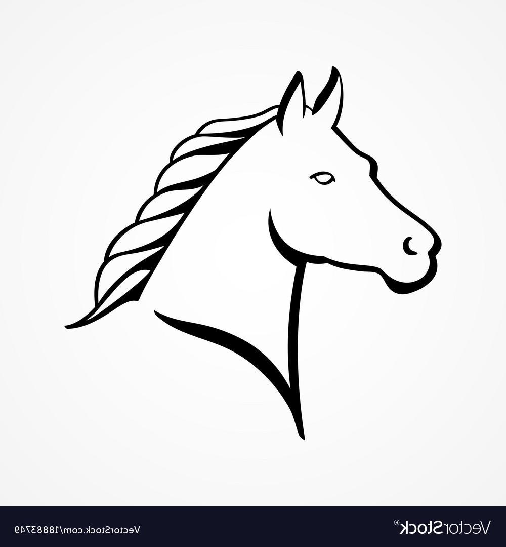 1000x1080 Top 10 Line Art Of Horse Head Vector Design