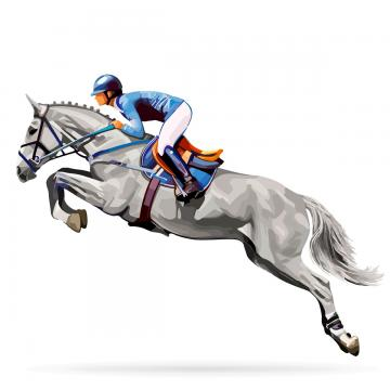 360x360 Horse Jumping Png, Vectors, Psd, And Clipart For Free Download