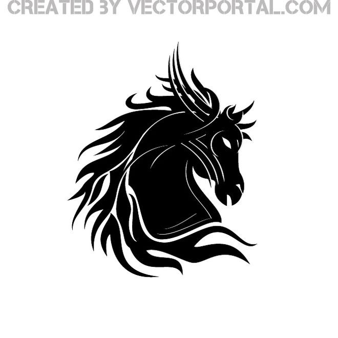 Horse Vector Art