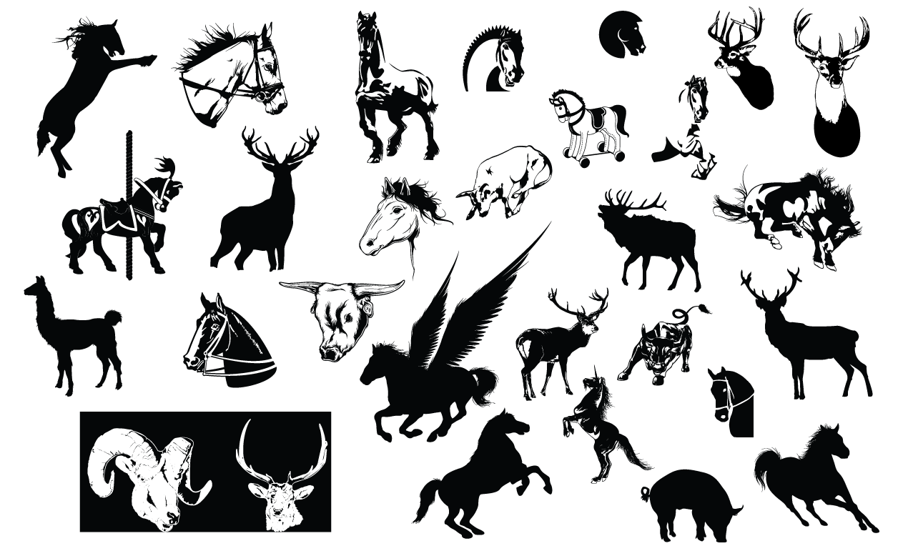 Horse Vector Images