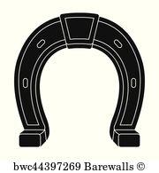 180x195 8,747 Horseshoe Vector Posters And Art Prints Barewalls