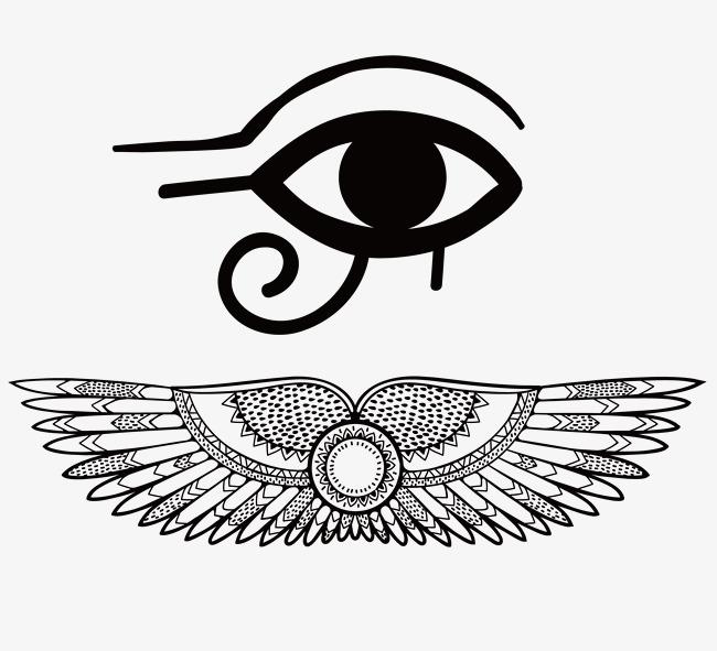 650x591 Eye Of Horus Vector Material, Egypt, Eye Of Horus, Eye Of Wisdom