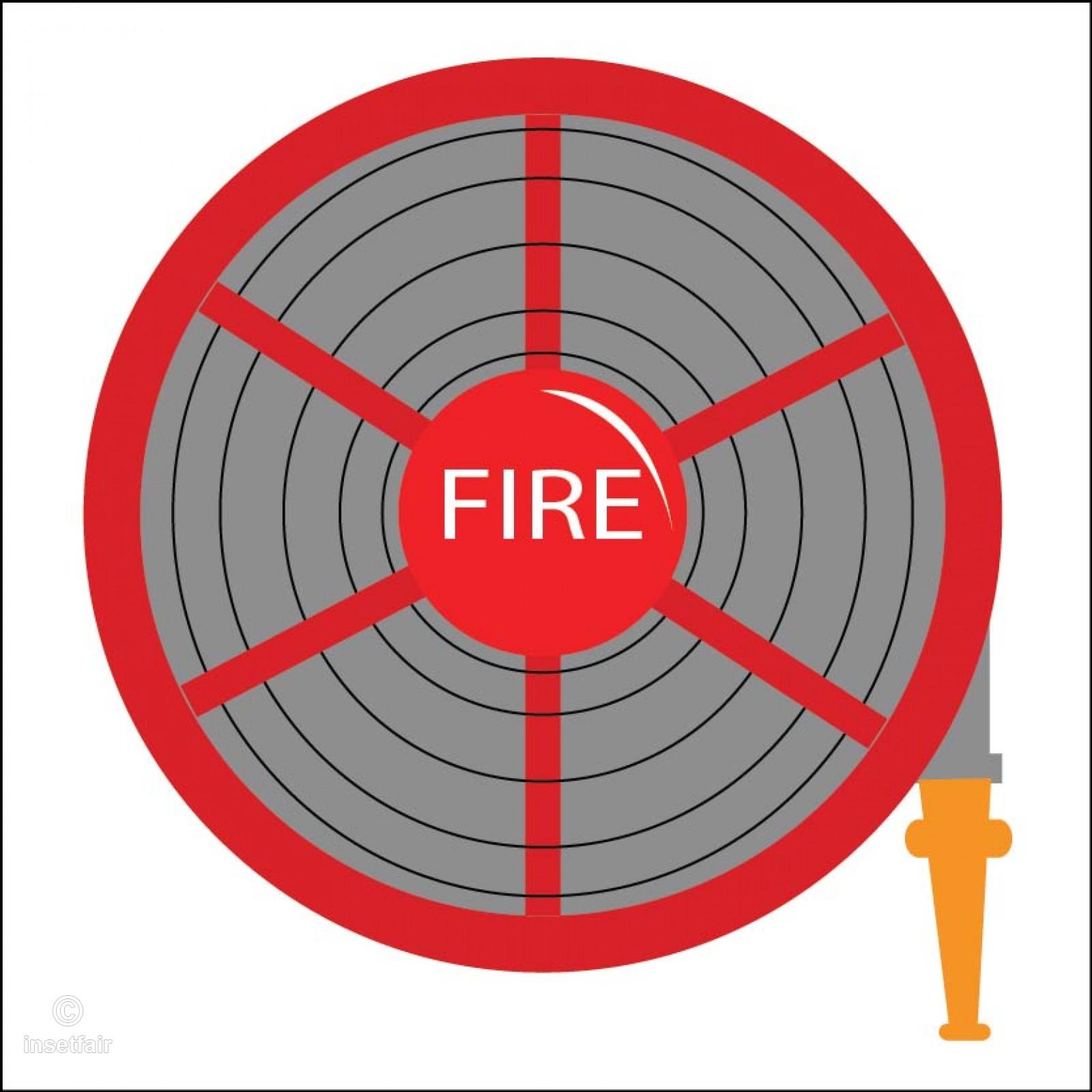 1600x1600 Fire Hose Reel Vector Illustrator Png Image