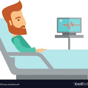 300x300 Patient Lying In The Hospital Bed Vector Sohadacouri
