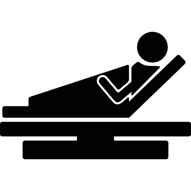626x626 Patient In Hospital Bed Icons Free Download