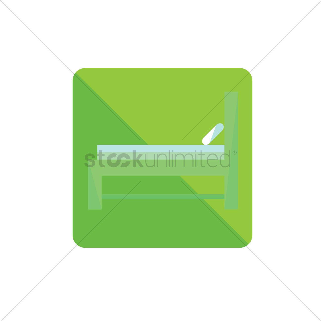 1300x1300 Free Hospital Bed Vector Image