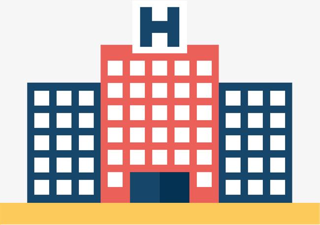 650x457 Hospital Building, Building Vector, Hospital, Multi Storied