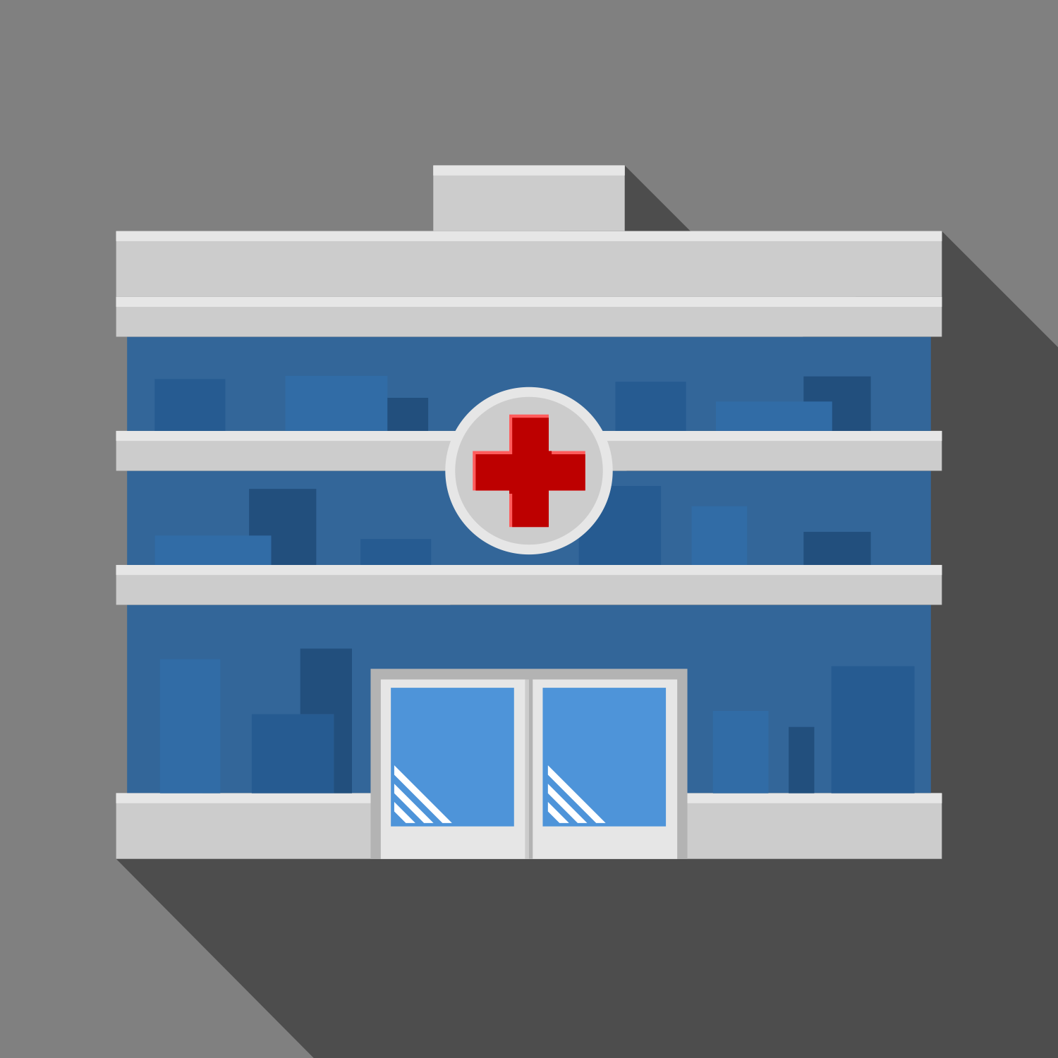 1500x1500 Vector For Free Use Hospital Icon
