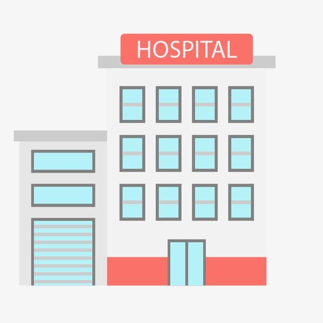 650x650 Hospital, Vector Architecture, Cartoon House, Hospital Vector Png