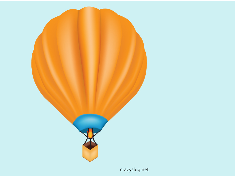 800x600 Free Download Of Hot Air Balloon Vector Graphic