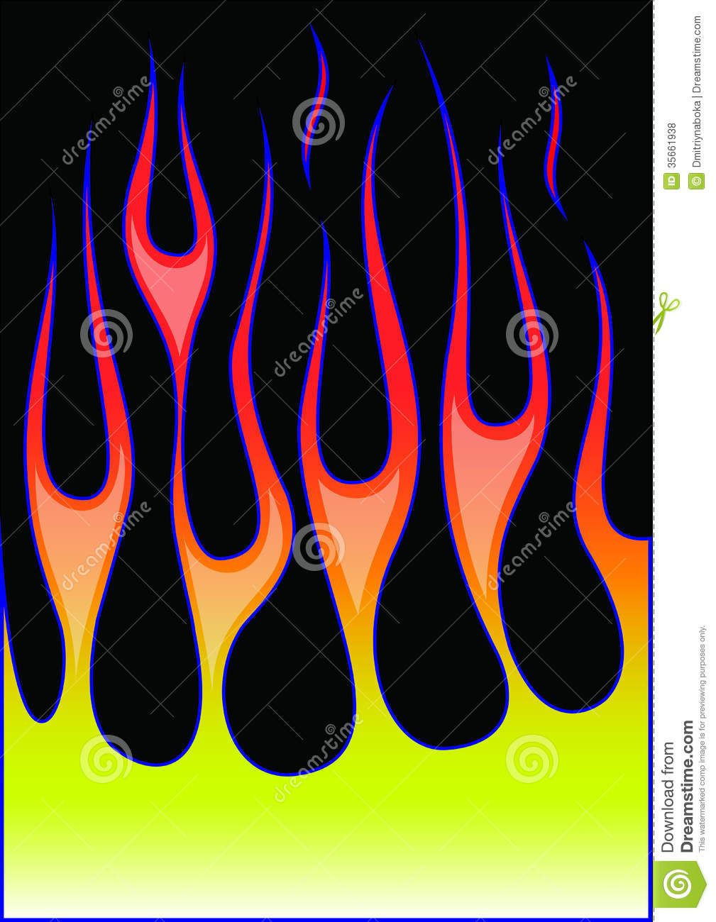 1009x1300 Old School Hot Rod Flames Vector Hot Rod Flames Related Keywords