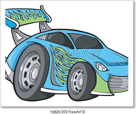 560x470 Free Art Print Of Hot Rod Race Car Vector Art. Hot Rod Race Car