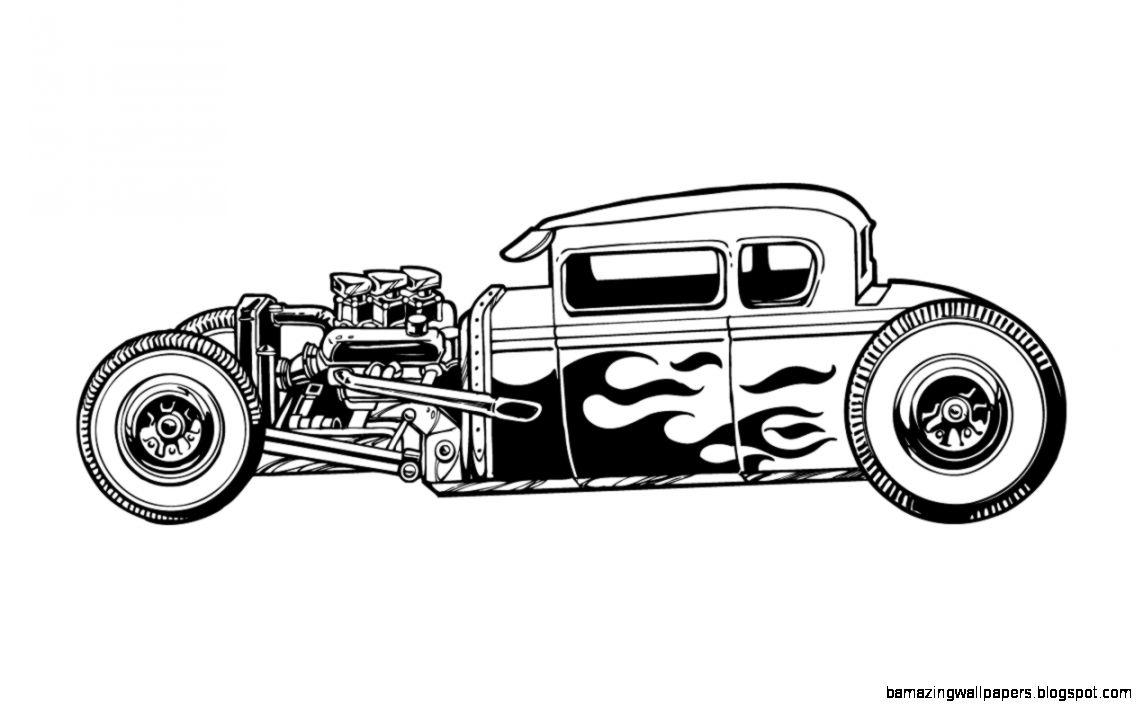 hot rod vector art at getdrawings com