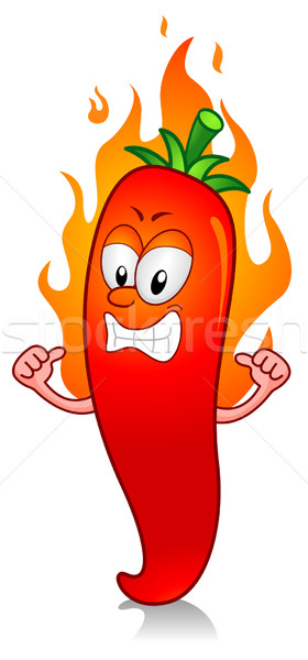 280x600 Hot Chili Vector Illustration Lenm ( 539388) Stockfresh