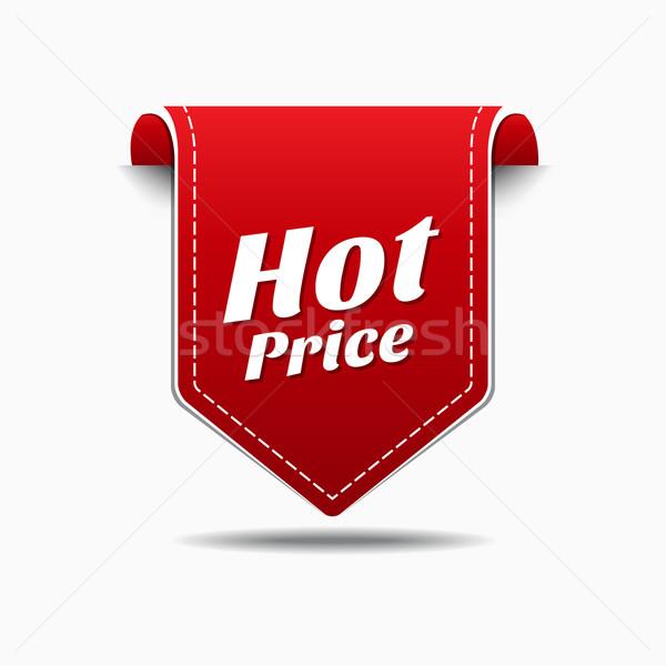600x600 Hot Price Red Vector Icon Design Vector Illustration Rizwan Ali