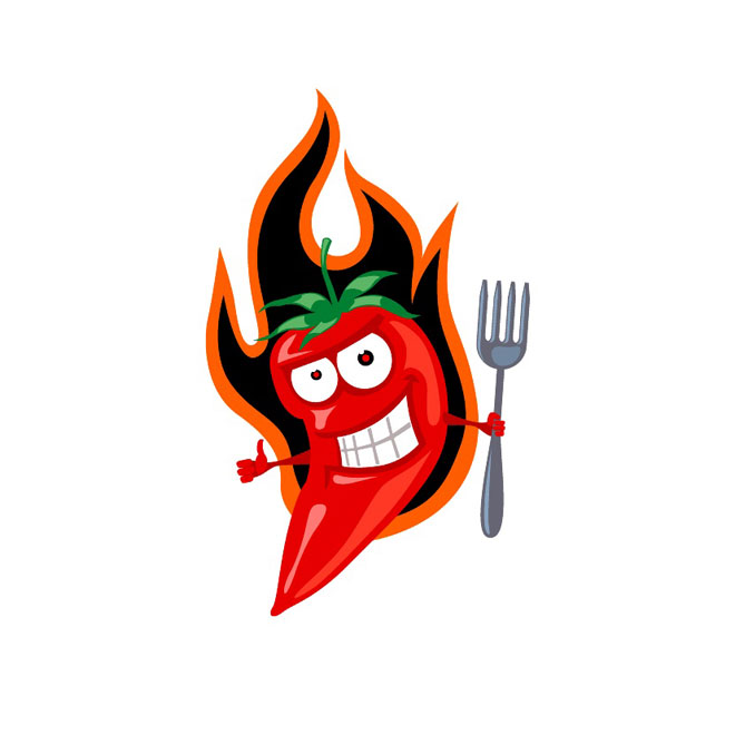 660x660 Red Hot Chilli Vector