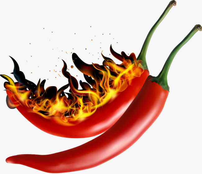 650x559 Vector Hot Pepper Hot Heat, Vector, Hot, Chili Png And Vector For