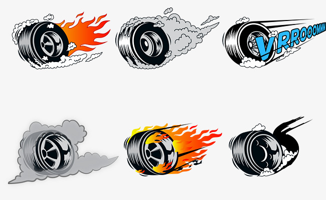 650x400 Vector Tires, Hot Wheels, Tire, Smoking Tires Png And Vector For