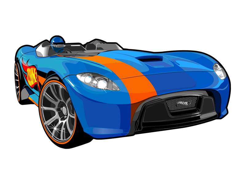 800x600 Vector Cars For Hot Wheels By Konstantin Shalev