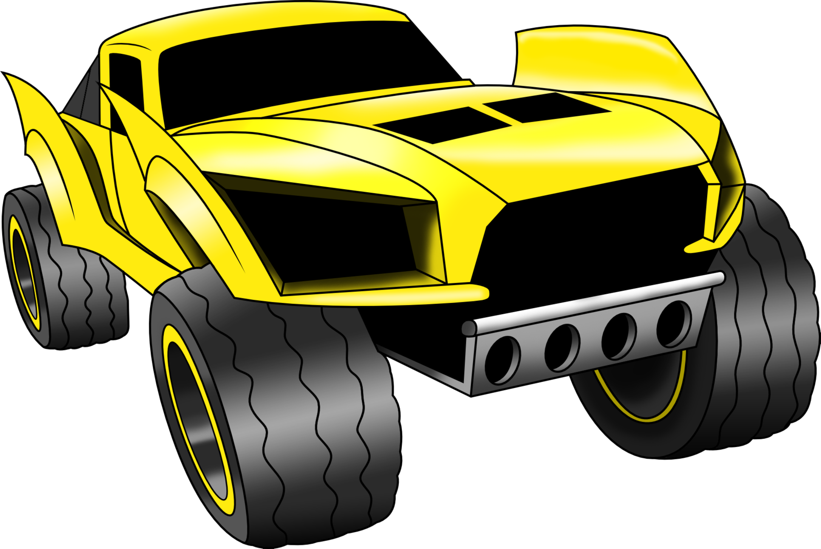 1600x1071 Hot Wheels Baja Truck (Vectored And Shaded) By Artthriller94 On