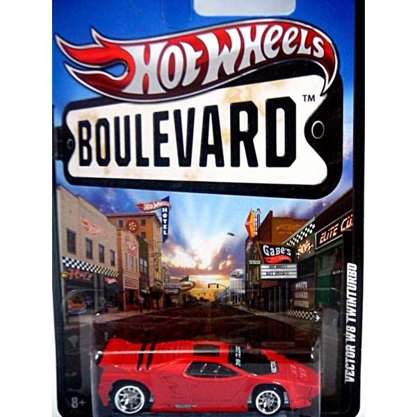 600x600 Hot Wheels Boulevard Vector W8 Twinturbo