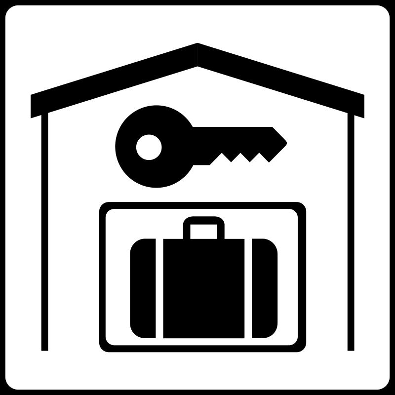 800x800 Hotel Icon Has Secure Storage In Room Free Vector 4vector
