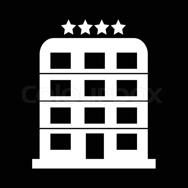 800x800 4 Star Hotel Icon Illustration Design Stock Vector Colourbox