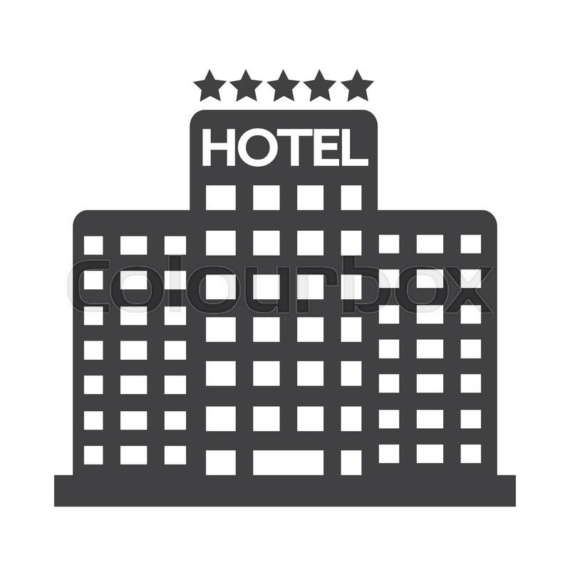 800x800 Five Star Hotel Icon Stock Vector Colourbox