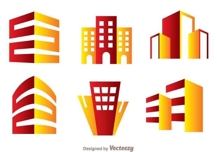 700x490 Red And Orange Hotels Logo Vector