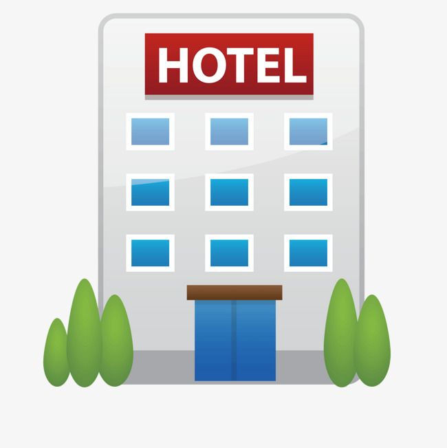 650x651 White Hotel Building, Hotel Vector, Building Vector, White Png And