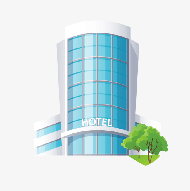 650x651 Blue Hotel Vector Png, Blue Vector, Hotel Vector, Blue Png And