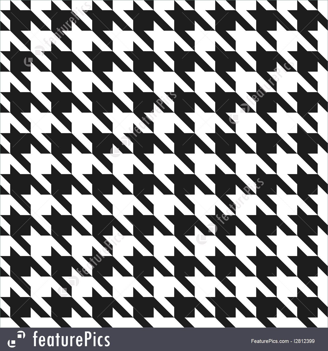 1300x1392 Houndstooth Pattern