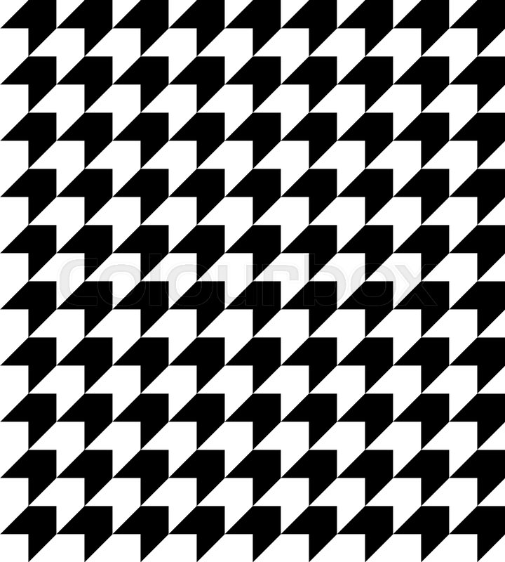 720x800 Abstract Geometric Background. Black And White Houndstooth Pattern