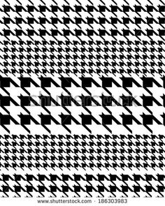 236x295 Houndstooth Or Pied De Poule Classic Pattern, Vector Illustration