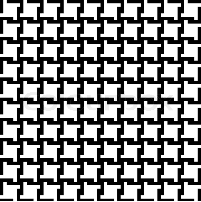 797x800 Trendy Houndstooth Pattern That Tiles Seamlessly As A Pattern
