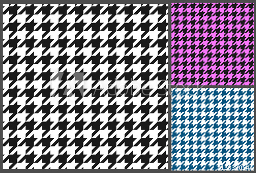 500x339 Houndstooth Pattern Vector
