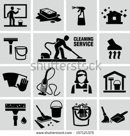 450x470 House Cleaning Icons Free Icons