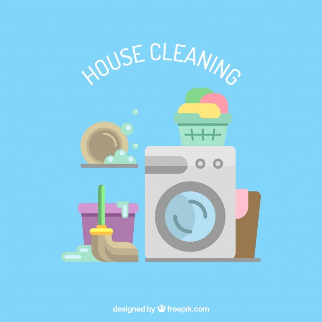 626x626 House Cleaning Services Icons Vector Free Download