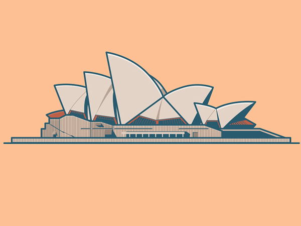 600x450 14 Sydney Opera House On Behance