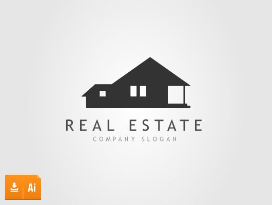 530x400 Real Estate Logos ( Ai, Eps) Outermost Logo Ideas