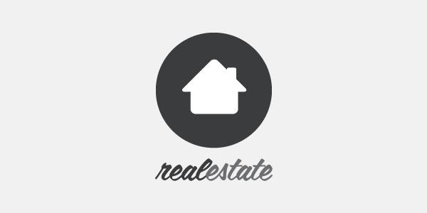 600x300 Real Estate House Logo ( Vector Illustration ) Graphic Hive