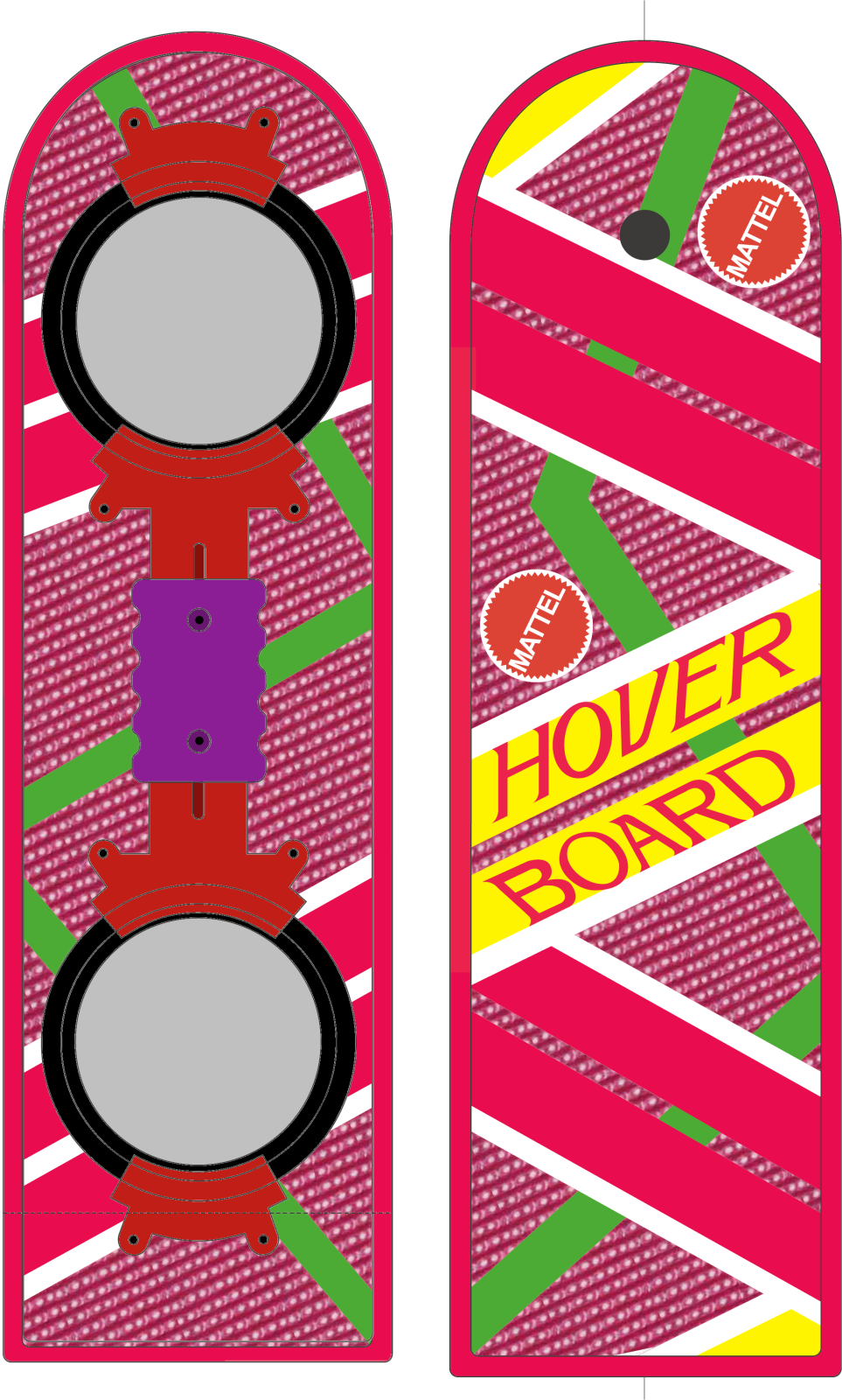963x1600 Bttf2 Hoverboard Plans And Graphics