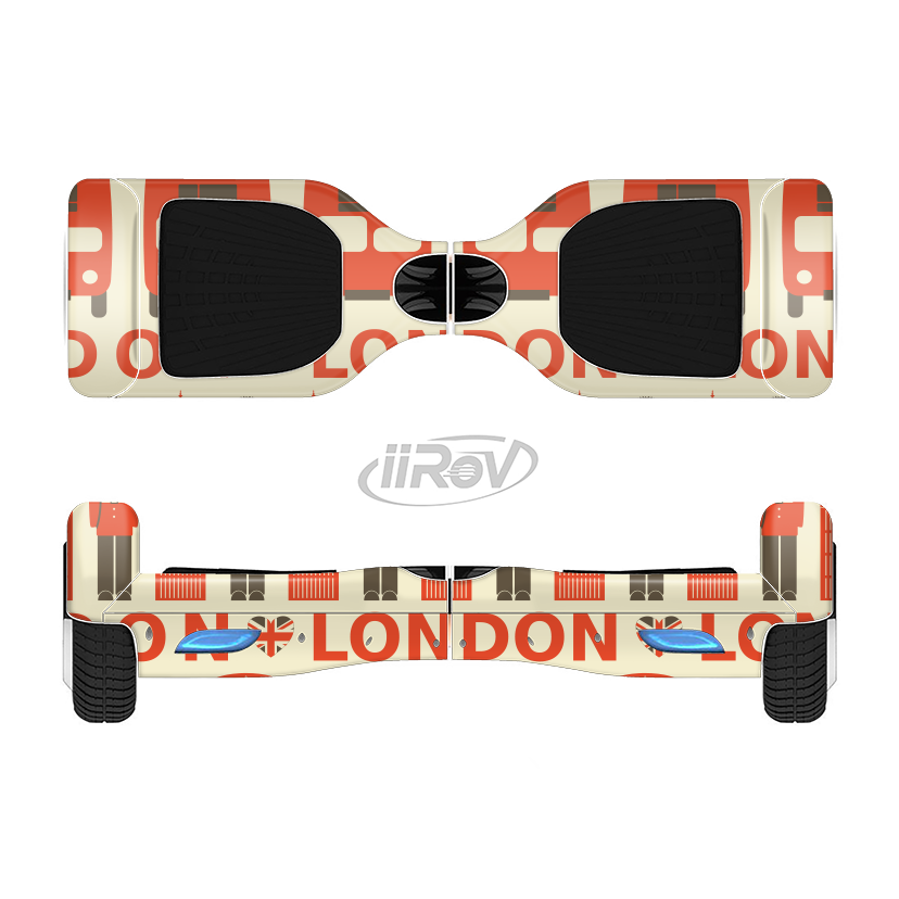 828x828 The Vector Tan And Red London Full Body Skin Set For The Smart