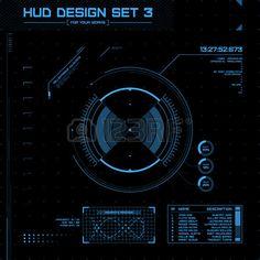 Hud Elements Vector