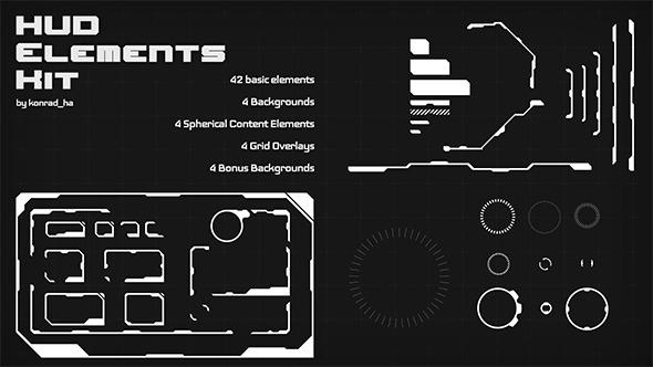 590x332 Hud Elements Kit By Konrad Ha Videohive