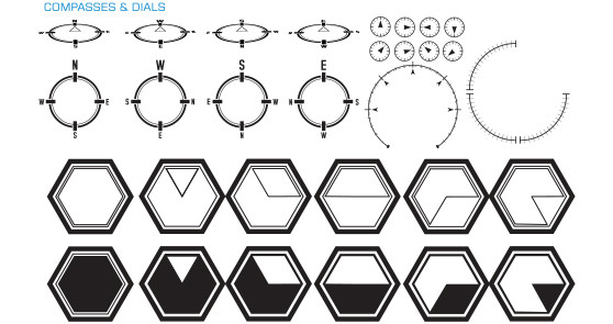 558x295 Fm001 Science Fiction Hud Elements Stock Vector Art